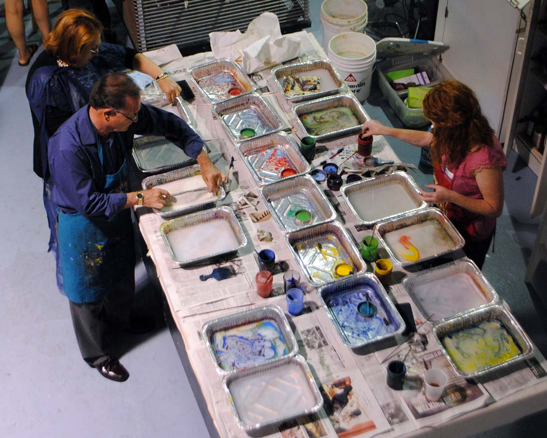 Hands-On Printmaking Demonstration