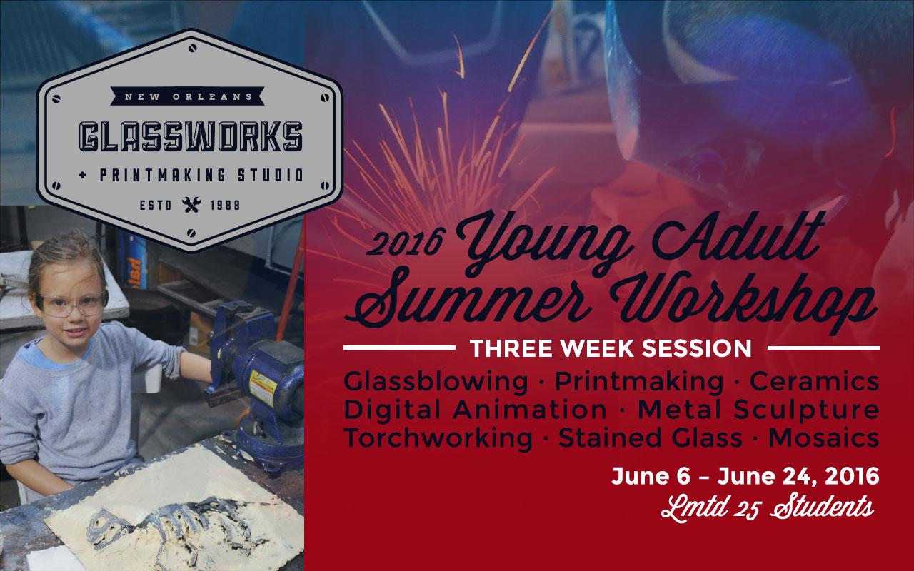 2016 Young Adult Summer Workshop